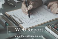 web report pulsa, web report server pulsa, web report agen pulsa