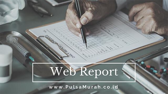 web report pulsa, web report server pulsa, web report agen pulsa